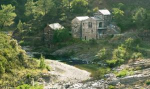 Rivière proche de la Maison d'hôtes à Les Vans en Ardèche